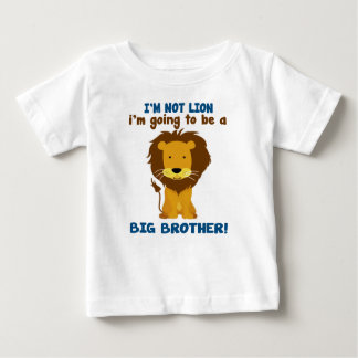 Big Brother Lion Baby T-Shirt