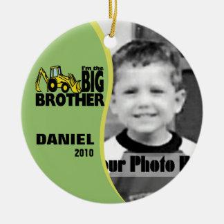 Big Brother Photo Christmas Ornament