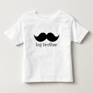 Big Brother Shirt, with moustache Toddler T-Shirt