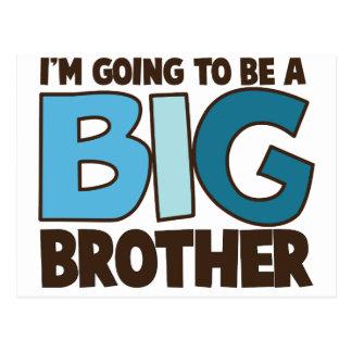 big brother t-shirt postcard