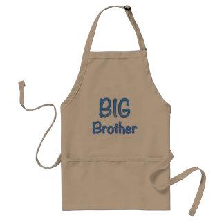 Big Brother Typography Standard Apron