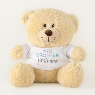 Big Brother with custom name or text Teddy Bear