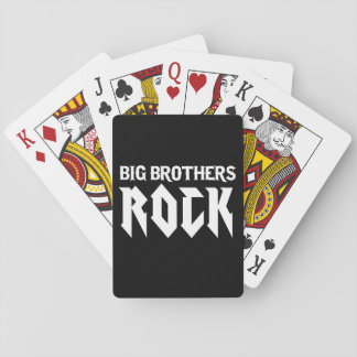 Big Brothers Rock Playing Cards