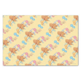Big Brown Bear & Friends Share Four Chairs Tissue Paper
