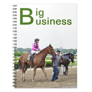 Big Business, Belmont Park Spiral Notebook