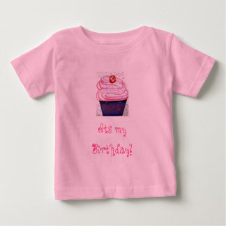 big-cupcake-corinne-vincent, Its my Birthday! Baby T-Shirt