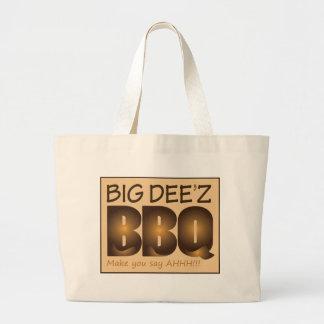 Big Dee'z BBQ Gear Large Tote Bag