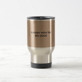 big dog coffee stainless steel travel mug
