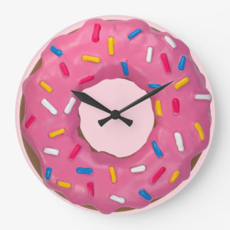 Big Donut Large Clock
