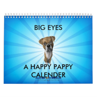 BIG EYES™ CALENDER (HAPPY PAPPY EDITION) WALL CALENDARS