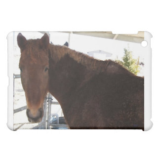 Big Eyes Red Tennessee Walking Horse - TWH Case For The iPad Mini