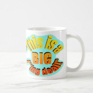 BIG F-ing Deal Basic White Mug