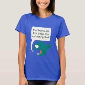 Big Fat Critique Fish T-Shirt