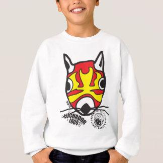 Big Head Paco from Mexican Wrestling Squirrels Sweatshirt