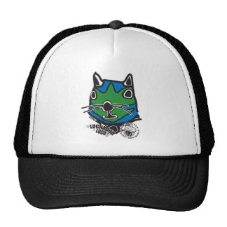 Big Head Tito from Mexican Wrestling Squirrels Mesh Hat