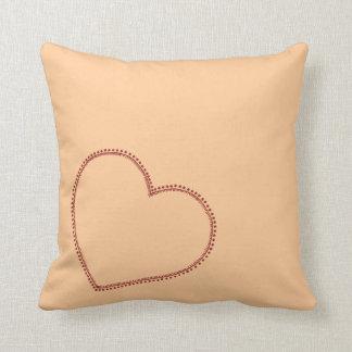 Big Heart Throw Cushions