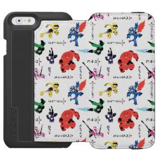 Big Hero 6 Fighting Pattern Incipio Watson™ iPhone 6 Wallet Case
