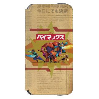 Big Hero 6 Superheros 3 Incipio Watson™ iPhone 6 Wallet Case