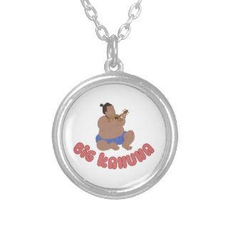 Big Kahuna Round Pendant Necklace
