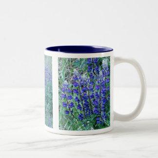 Big Leaf Lupin Wildflowers Mug