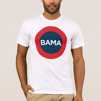 Big Obama Red, White and Blue Tee