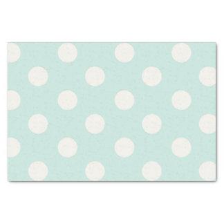 Big Polka Dots Vanilla Chic Pattern Tissue Paper