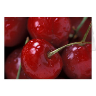 Big Red Cherries Card