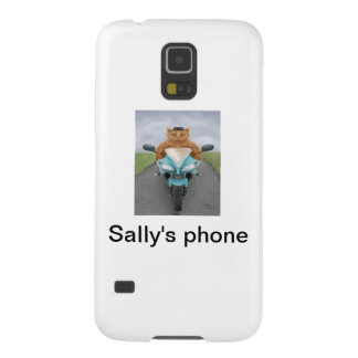 Big Red Tabby Galaxy S5 Covers