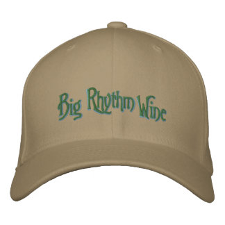 Big Rhythm Wine Hat Embroidered Cap