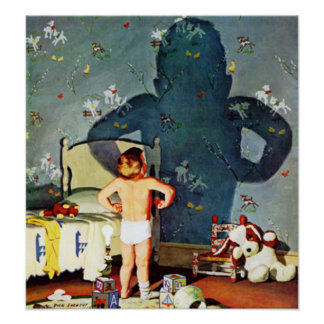"""Big Shadow, Little Boy,"" October 22, 1960 Poster"