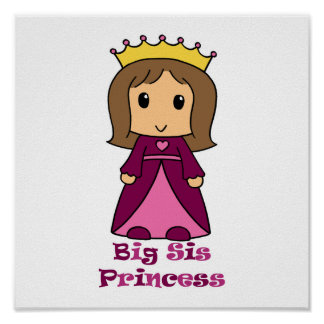 Big Sis Princess Print