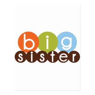 big sister mod circles postcard
