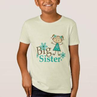 Big Sister Stick Figure T-Shirt