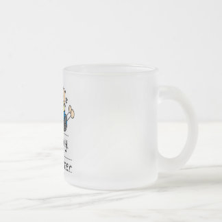 Big Sister with Little Brother Tshirts and Gifts Frosted Glass Coffee Mug