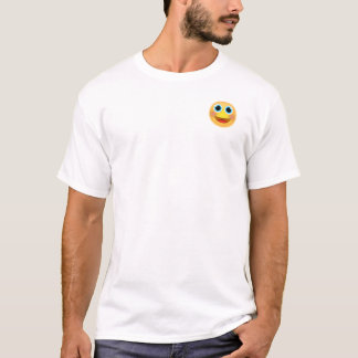Big Smile Emoji T-Shirt (top left design)