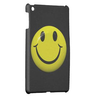 Big Smiley Face Button iPad Mini Case