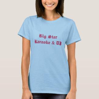 Big Star Karaoke & DJ ladies shirts