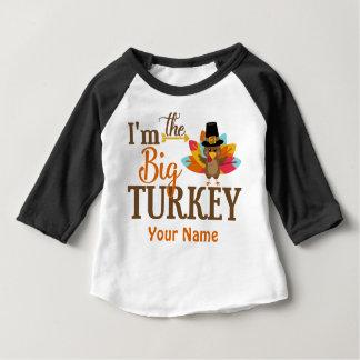 Big Turkey Thanksgiving Personalised T-shirt