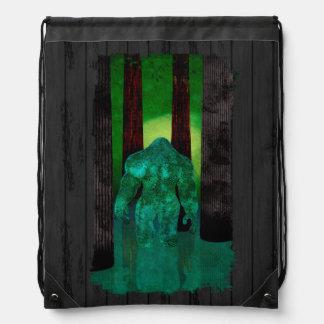 Bigfoot Drawstring Bag