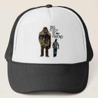 Bigfoot Is My Friend Trucker Hat
