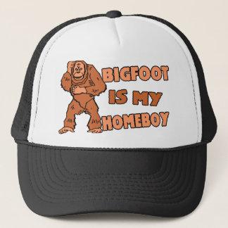 Bigfoot Is My Homeboy Trucker Hat