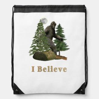 Bigfoot merchandise drawstring bag