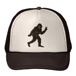 Bigfoot Peace Cap