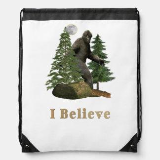 Bigfoot t-shirts drawstring bag