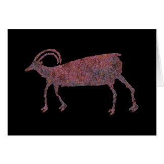 Bighorn Sheep, Animal Image 1, Card