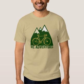 bike adventures, mountain biking tee shirt