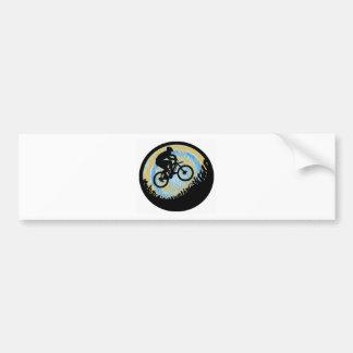 Bike Alpine Ascent Bumper Sticker
