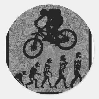 bike best days classic round sticker