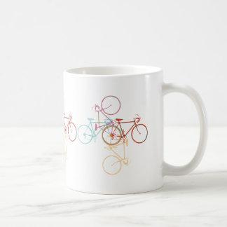 bike - cycling pattern mugs