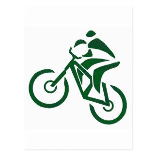 bike Green Machines Postcard